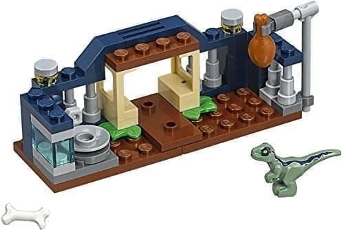 Лего Малыш Велоцираптор (Jurassic World Baby Velociraptor Playpen (30382) 48 деталей купить в Москве