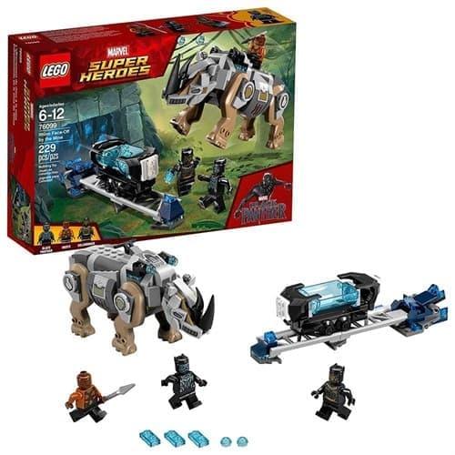 Лего Боевые носороги Ваканды ( LEGO Marvel Rhino Face-Off by the Mine 76099) 229 деталей - фото 19451