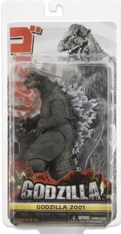 Подвижная фигурка Годзилла  2001 года (Godzilla) купить в Москве