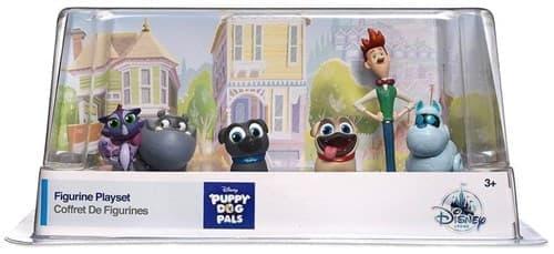 Набор фигурок героев мульта Дружные мопсы (Puppy Dog Pals) до 10 см