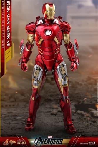 Фигурка Железный Человек Mark VII (Hot Toys) 32 см в Москве