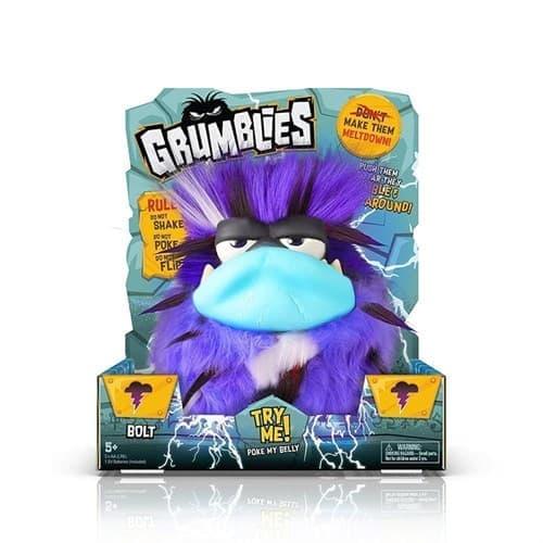Дрожащий Grumblies (Грамблз) Болт синего цвета 20 см super01.ru