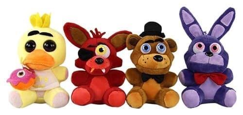 Набор плюшевых игрушек 5 ночей с фредди (ФНАФ) - фото 21062