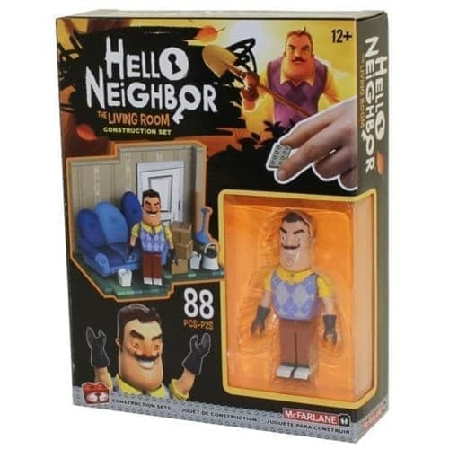 Конструктор комната соседа (Hello Neighbor the Living Room Small Construction Set) (88 деталей) купить