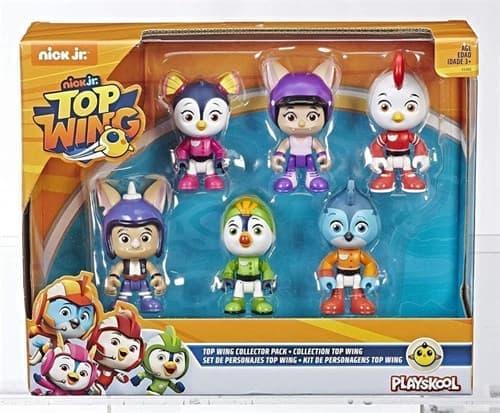 Игровой набор Отважные птенцы (Top Wing 6-Character Collection Pack) купить в Москве