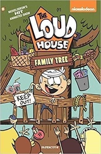 Книга Шумный дом № 4 (The Loud House #4: Family Tree)