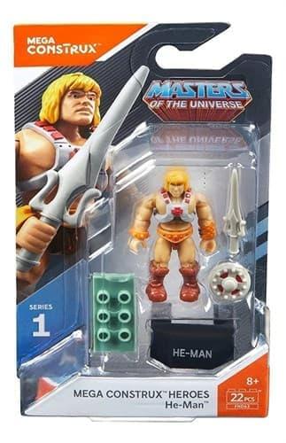 Конструктор Хи-мен (He-Man Властелины Вселенной) 22 детали купить в Москве