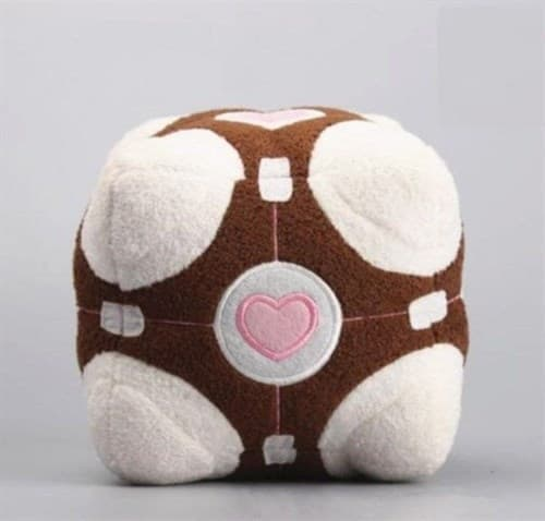 Мягкая игрушка Взбещенный куб-компаньон (Companion Cube Plush) купить в Москве
