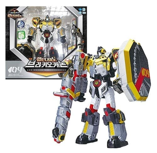 Подвижная игрушка Капитан Брахиокенон (Geo Mecha Captain BRACHIOCANNON Transformer)