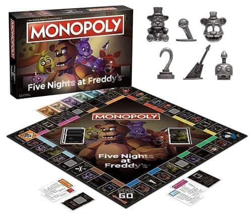 Настольная игра Монополия 5 ночей с фредди (Monopoly Five Nights at Freddy's) купить