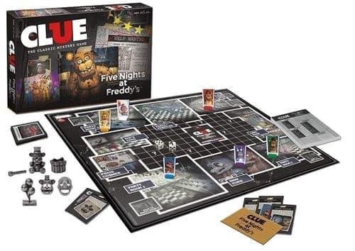 Настольная игра Монополия CLUE 5 ночей с фредди (CLUE Five Nights at Freddy) - фото 24871