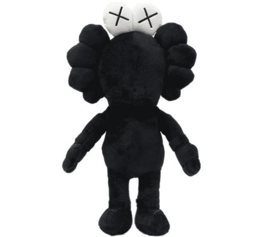 Плюшевая кукла Kaws (Улица Сезам Черная) купить