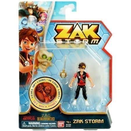 Подвижная фигурка Зак Шторм (Zak Storm Action Figure) купить