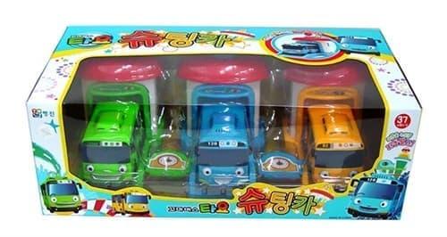 Игровой набор гараж Тайо, Роги и Ранни из мультфильма Тайо маленький автобус купить в Москве