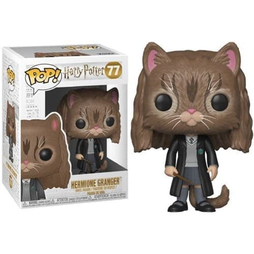 Фигурка Гермиона Кот Гарри Поттер (Hermione as Cat Harry Potter Pop) № 77 купить