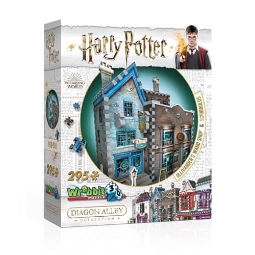 3-D пазл Гарри Поттер Лавка Олливандера (Ollivander's Wand Shop) 295 деталей