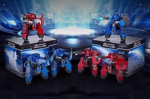 Боевой Робот (Boxing Robot синий и красный) - фото 29825
