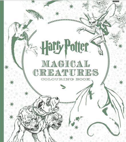 Раскраска Гарри Поттер. Мир магических существ - купить ...