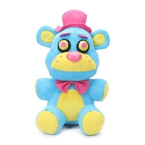 Мягкая игрушка ФНАФ Фредди Неоновая Колекция (Five Nights Freddy Neon Plush Collectible) 20 см купить Москва