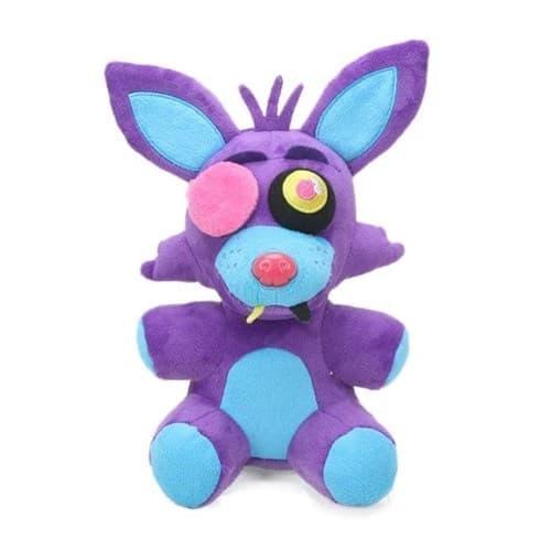 Мягкая игрушка Фокси Неоновый Пурпурный (Five Nights Foxy Purple) 20 см - фото 34219