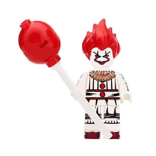 Фигурка совместимая с Лего Пеннивайз c шариком из фильма Оно - купить недорого в интернет-магазине игрушек Super01