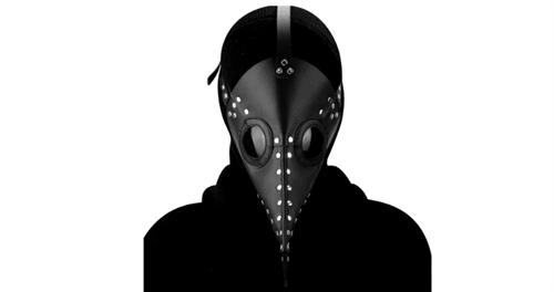 Маска Чумного Доктора (Черная) купить в Москве
