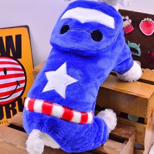 Костюм для собаки Капитан Америка купить Москва