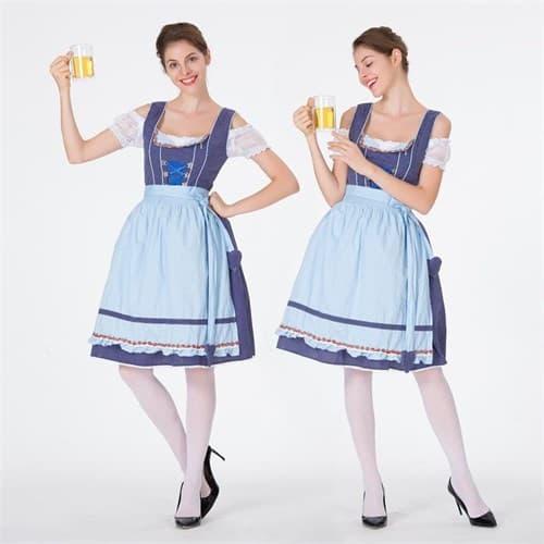 Купить Голубой баварский костюм в Москве