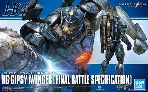 Фигурка Бродяга финальная битва (Gipsy Avenger Final Battle Specification) из фильма Тихоокеансий рубеж