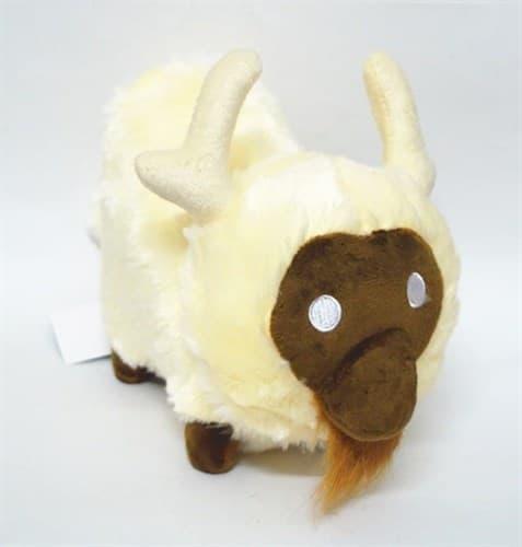 Плюшевый белый бизон (White Beefalo Plush) с игры Don't starve купить