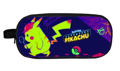 Синий пенал Детектив Пикачу (Pokemon Detective Pikachu) купить в Москве
