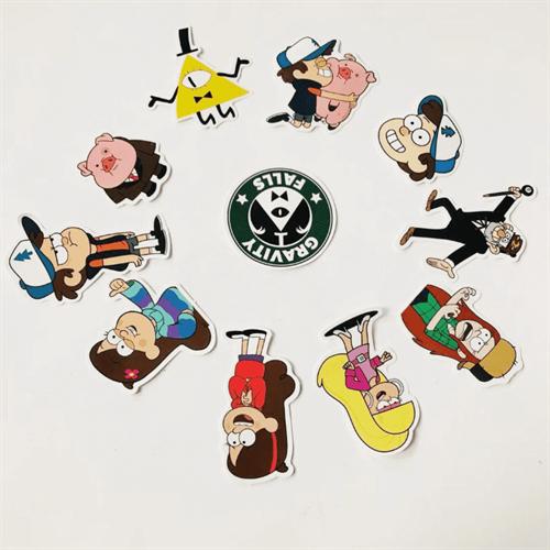Полный комплект наклеек Gravity Falls купить в Москве