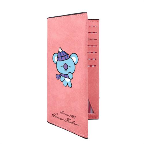 Купить Вельветовый кошелек Коя БТ21 (BT21)