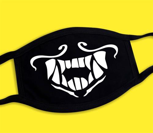 Черная маска с улыбкой купить в Москве