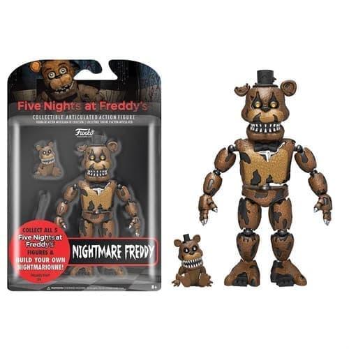 Подвижная игрушка Кошмарный Фредди (Nightmare Freddy Action Figure) - фото 7109