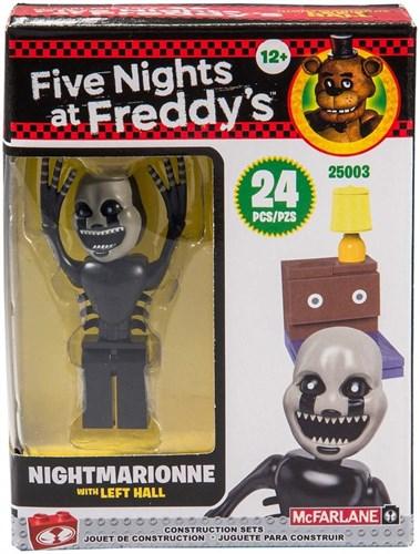Конструктор Кошмарионн (Five Nights at Freddy's Left Hall with Nightmarionne Micro Set) купить в Москве