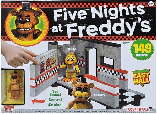 Конструктор ФНАФ Восточный Зал (Five Nights at Freddy's East Hall Medium Construction Set) 149 деталей купить в Москве