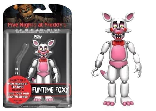 Подвижная игрушка Фантайм Фокси (Funtime Foxy Action Figure) - фото 7332