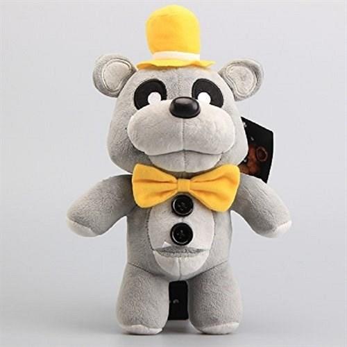 Плюшевая игрушка Серый Фреди в шляпе 30 см из игры 5 ночей с Фредди купить