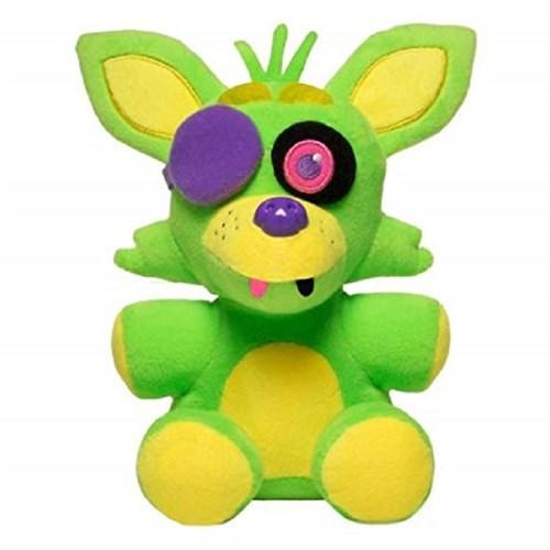 Мягкая игрушка ФНАФ Фокси Неоновая Колекция (Five Nights At Freddy's Foxy Neon Plush Collectible) 20 см купить Москва
