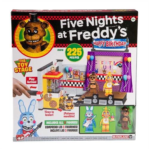 Конструктор ФНАФ Большой набор (FNAF The Toy Stage Large Set) на 225 детали купить в Москве