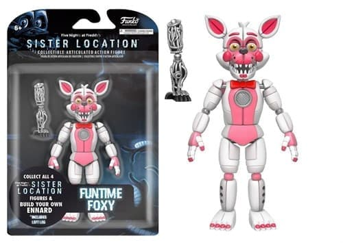 5 Ночей Фреди Funtime Foxy Articulated Action Figure, 5