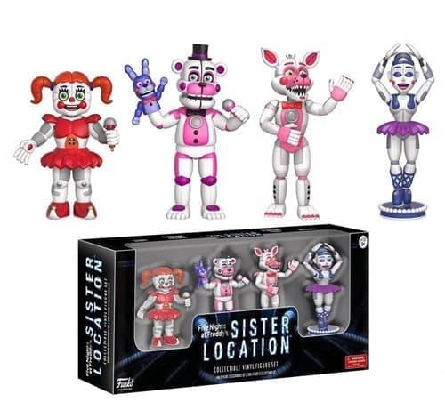 5 Ночей Фреди  Sister Location Set 1 Action Figure