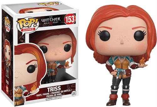 Фигурка Трисс (Triss) из игры Witcher - фото 7782