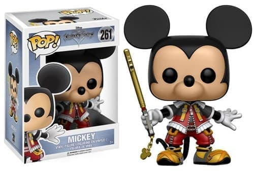 Фигурка Микки Маус (Mickey Mouse) из игры Kingdom Hearts - фото 8078