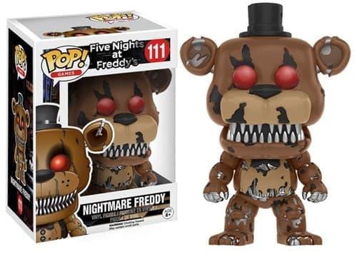 Фигурка Кошмарный Фредди (Freddy Nightmare) из игры Five Nights at Freddy №111 - фото 8117