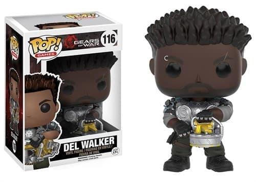 Фигурка Дел Уолкер Арморд (Del Walker Armored) из игры Gears of War - фото 8235