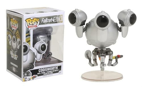 Фигурка Кодсворт (Codsworth) из игры Fallout - фото 8269