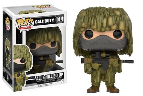 Фигурка All Ghillied Up из игры Call of Duty - фото 8352