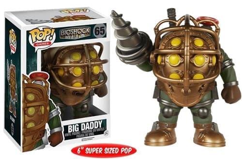 Фигурка Большой папочка (Big Daddy 6-Inch) из игры BioShock - фото 8376